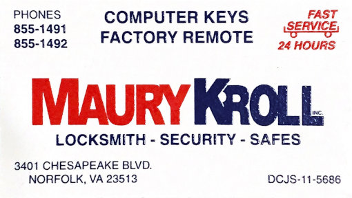 Maury Kroll Locksmith